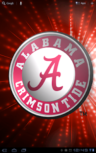 Alabama Crimson Tide LWP &Tone- screenshot thumbnail