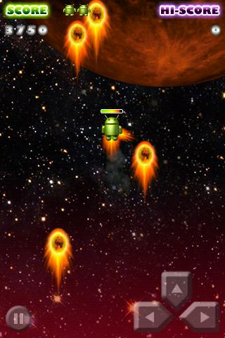 Android Lander Lite - screenshot