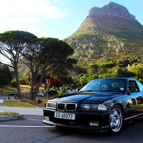 e36 M3 by Reon Rich - Transportation Automobiles ( table mountain, lion's head, m3, e36, cape town,  )