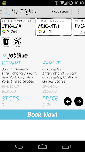 Smart Flights Track Book