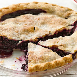 Easiest Ever Blueberry Pie.