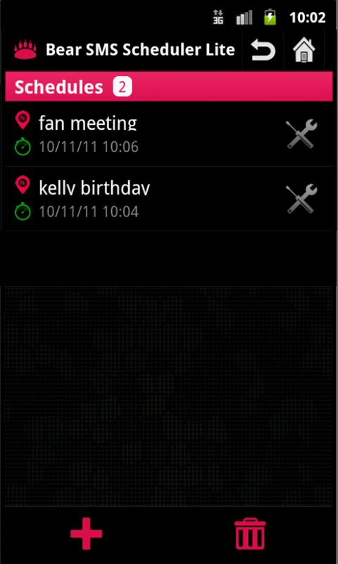 SMS Scheduler Lite- screenshot