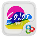 Color Evil GO Launcher Theme