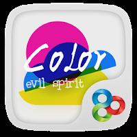 Color Evil GO Launcher Theme v1.0