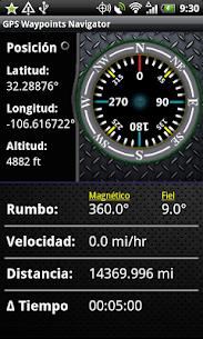 GPS Waypoints Navigator APK 1
