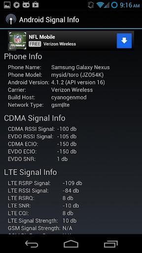 Advanced Signal Status 1.5.7 screenshots 8