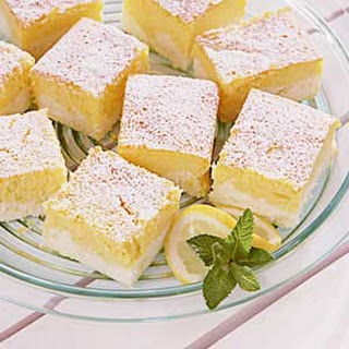 Lemon Ricotta Cheesecake Squares.