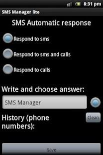 SMS Manager lite- screenshot thumbnail