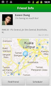 Maxis Friend Finder screenshot 1