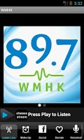 Screenshot of 89.7 WMHK