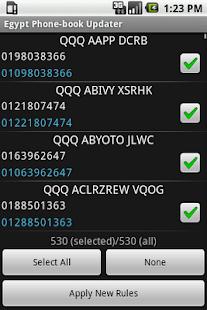 Egypt Phonebook Updater- screenshot thumbnail