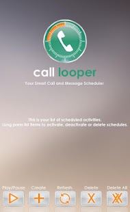 Call Looper Call Sms Scheduler- screenshot thumbnail