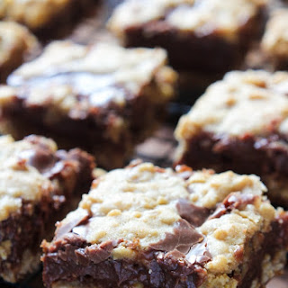 Deep Dish Fudgy Oatmeal Bars