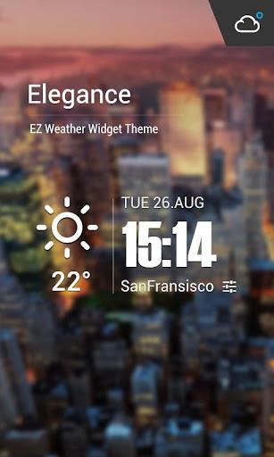 Live weather & Clock Widget 15.1.0.45940 screenshots 1