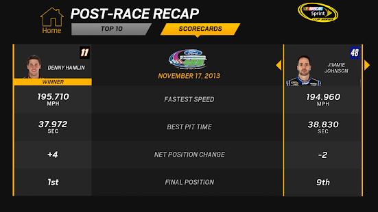 NASCAR RACEVIEW MOBILE Screenshot 36