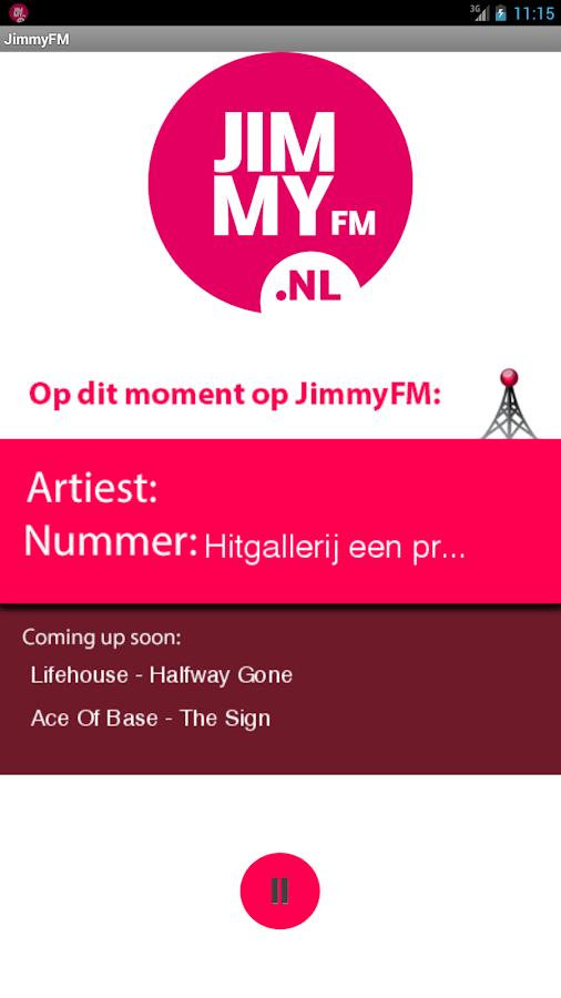 JimmyFM- screenshot
