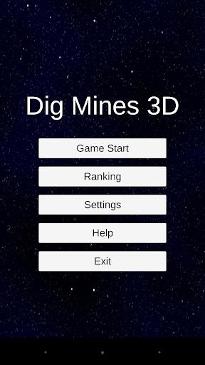 3Dマインスイーパー! - Dig Mines 3D