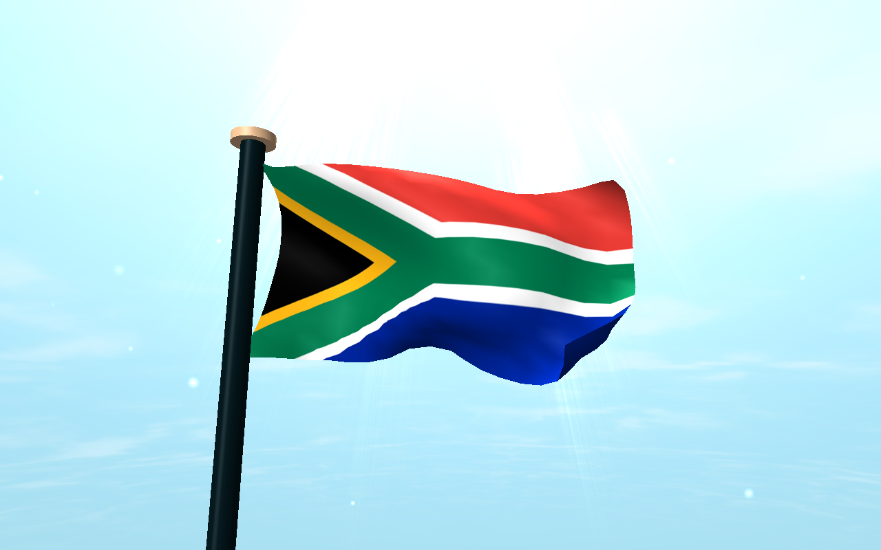 south africa flag 3d wallpaper android apps on google play