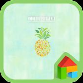 App colorful pineapple 8 version 2015 APK