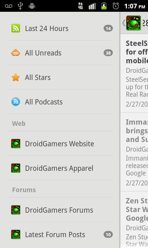 DroidGamers News - screenshot