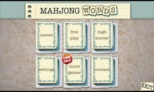 Mahjong Words Unlocked - screenshot thumbnail