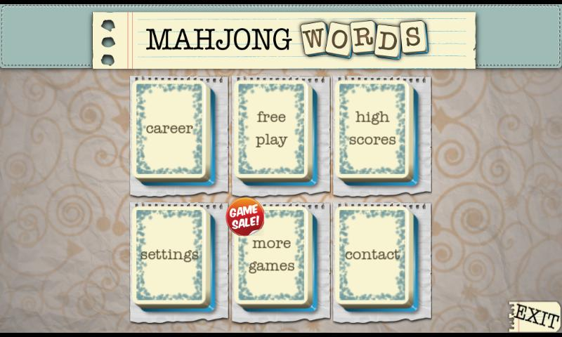 Mahjong Words Unlocked- screenshot