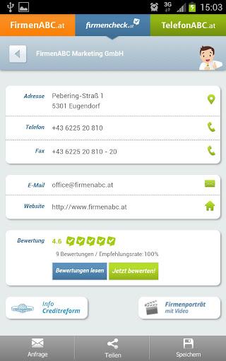 【免費旅遊App】FirmenABC.at & TelefonABC.at-APP點子