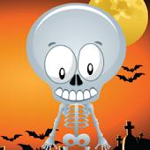 Scary Skeleton 4 UR Halloween