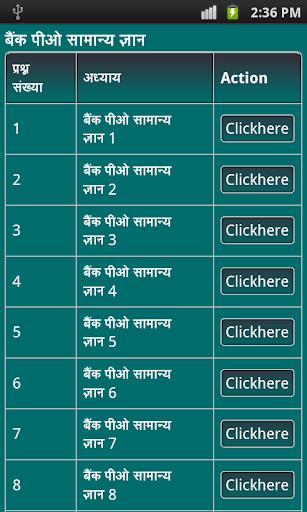 bank po gk in hindi