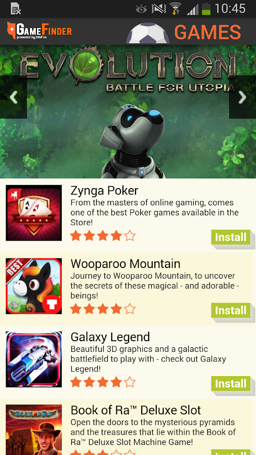 Game Finder - Find Top Games- screenshot