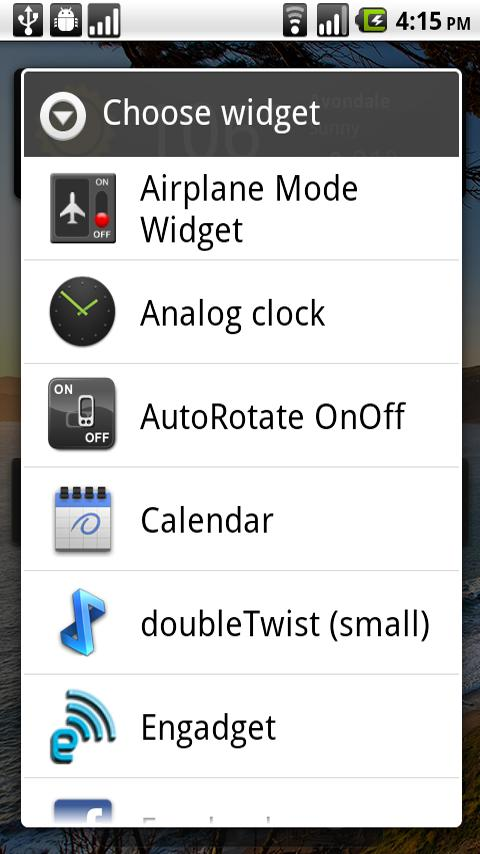 Airplane Mode Widget- screenshot