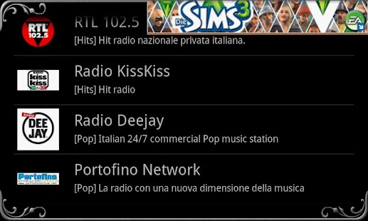 real Radio Italy - screenshot thumbnail