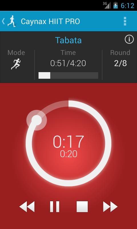 HIIT - interval workout PRO - screenshot