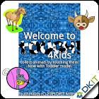 觸摸4個孩子 - 免費! icon