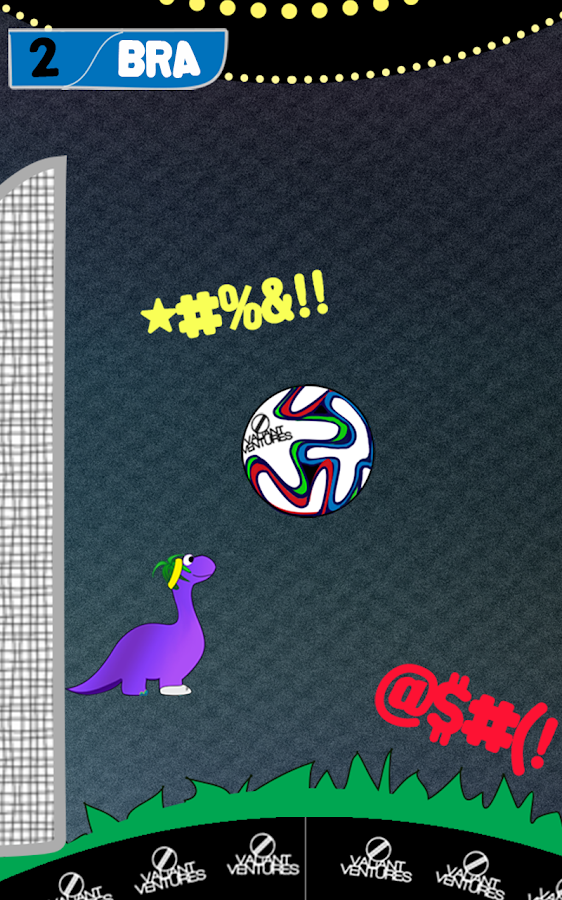Bouncing Bronto World Cup- screenshot