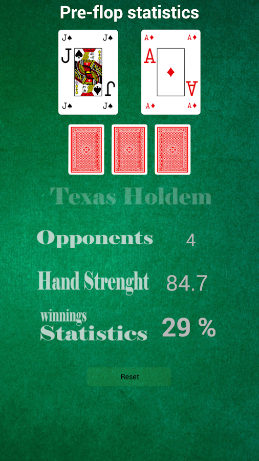 Texas holdem free android app
