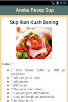 Screenshot of Resep Sup