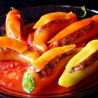 Bob's Stuffed Banana Peppers