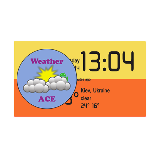 Weather ACE Clock Widget Pack 天氣 App LOGO-硬是要APP