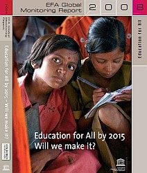 Cover of the Education for All Global Monitoring Report 2008 by UNESCO