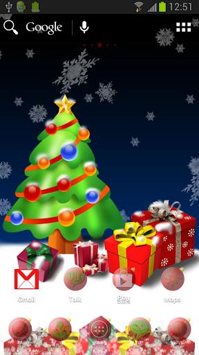 ADWのクリスマスツリーのテーマ