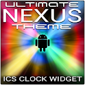 Ultimate NEXUS ICS Clock logo