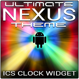 Ultimate NEXUS ICS Clock 個人化 App LOGO-APP試玩