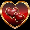 Hearts Love Go Launcher Theme icon
