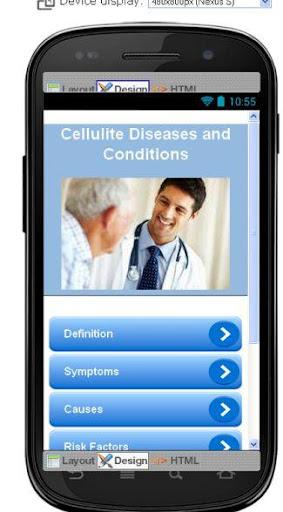 Cellulite Disease Symptoms