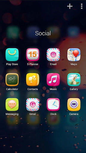 【免費個人化App】Candy Girl GO Launcher Theme-APP點子