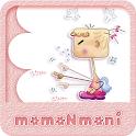 NK 카톡_모모N모니_잔소리삼매경 카톡테마 icon