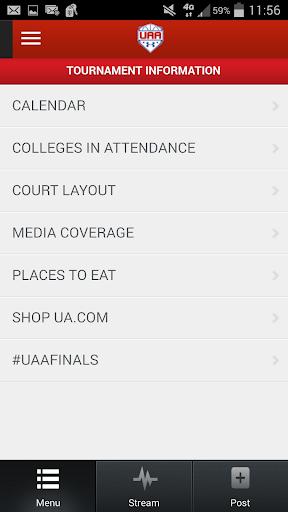 【免費運動App】UAA Finals-APP點子