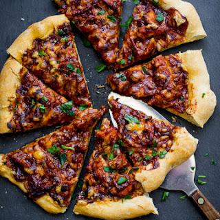 BBQ Turkey Pizza.