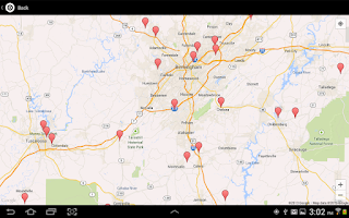 Screenshot of Where To Shoot for Android